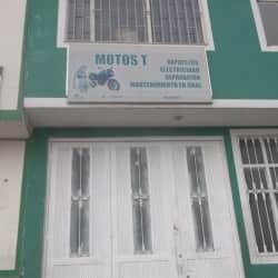 Motos T en Bogotá