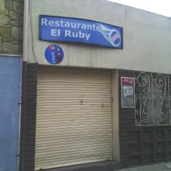 Restaurante El Ruby en Bogotá