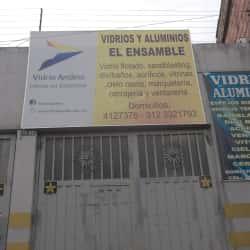 Vidrio y Aluminio El Ensamble en Bogotá