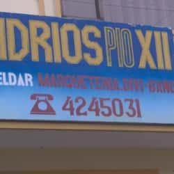 Vidrios Pio XII en Bogotá