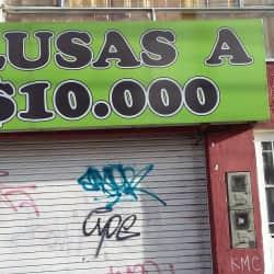Blusas a $ 10.000 en Bogotá