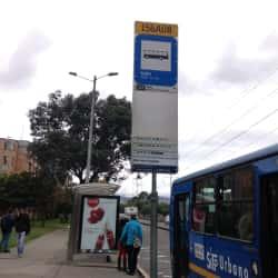 Paradero SITP Barrio Galán - 156A08 en Bogotá