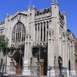 Basílica El Salvador en Santiago