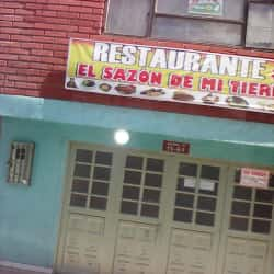 Restaurante El Sazon de Mi Tierra en Bogotá