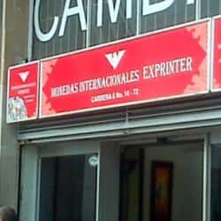 Casa de Cambios Sprinter en Bogotá