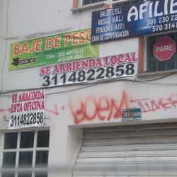 Baja de peso en Bogotá