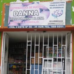 Distribuidora de huevos Danna en Bogotá