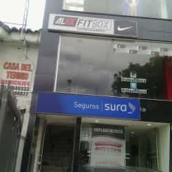 Alexfitbox Entrenamiento en Bogotá