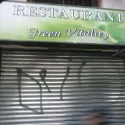 Café-restaurante Green Vitaly en Santiago