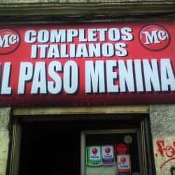 Al Paso Menina  en Santiago