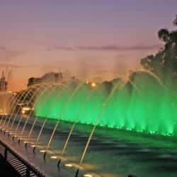 Fuente del Bicentenario en Santiago