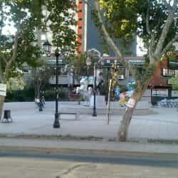 Plaza Stuttgart en Santiago