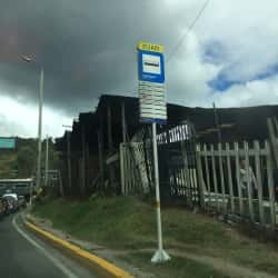 Paradero SITP Barrio Santa Teresa - 152A01 en Bogotá