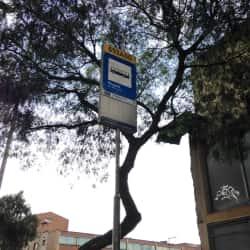 Paradero SITP Barrio Ricaurte - 693A00 en Bogotá