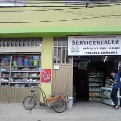 Supermercado Servicereales en Bogotá
