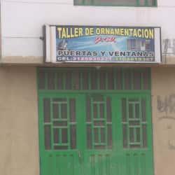 Taller de Ornamentacion J.W en Bogotá