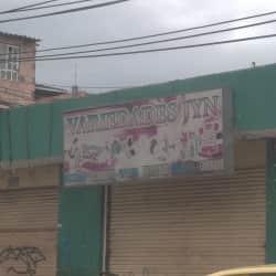Variedades JYN en Bogotá