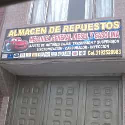 Almacen de Repuestos Mecanica General  en Bogotá