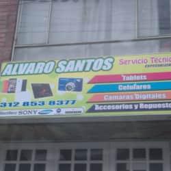 Alvaro Santos en Bogotá