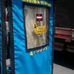 Bicitaxi El Taxista Caballero en Bogotá