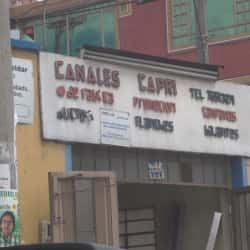 Canales Capri en Bogotá
