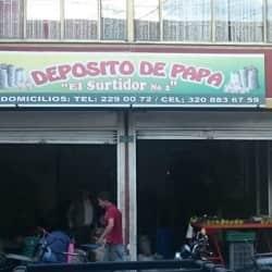 Depósito de papa El Surtidor # 2 en Bogotá