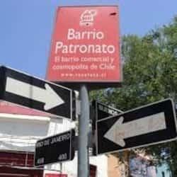Barrio Patronato en Santiago