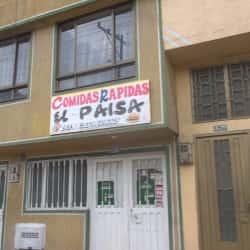 Comidas Rapidas El Paisa en Bogotá