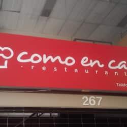 Como en casa restaurante en Bogotá