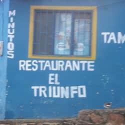 Restaurante El Triunfo en Bogotá