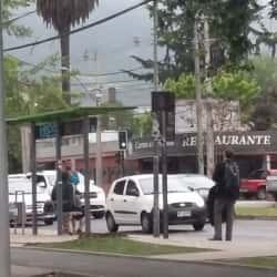 Paradero Transantiago PD448 en Santiago