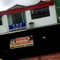 Restaurante la Alegria del Sabor en Bogotá