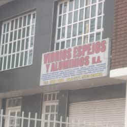 Vidrios espejos y Aluminios H.A en Bogotá