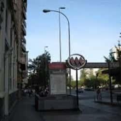 Estación Metro La Moneda en Santiago