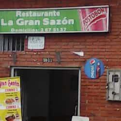 Restaurante la Gran Sazón  en Bogotá