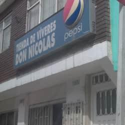 Tienda de Viveres Don Nicolas en Bogotá