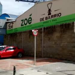 Zoe de Barrio Cocina de Mercado en Bogotá