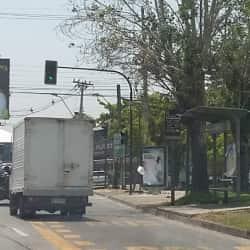 Paradero Transantiago PD218 en Santiago