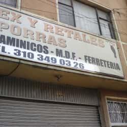 Triplex Y Retales Porras en Bogotá
