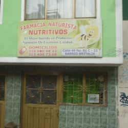 Farmancia Naturista Nutritivos en Bogotá