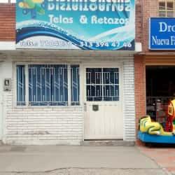 Distritio Allas Telas y Retazos en Bogotá