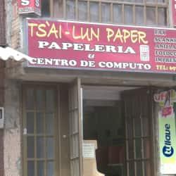 Ts´ai Lun Paper en Bogotá