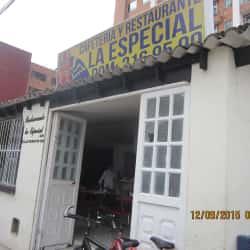 Restaurante La Especial en Bogotá