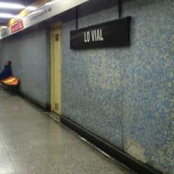 Estación Metro Lo Vial en Santiago