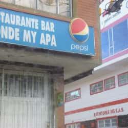 Restaurante Bar Donde My Apa en Bogotá