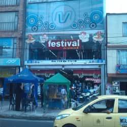 Festival en Bogotá