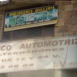 Radiadores William en Bogotá