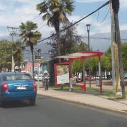 Paradero Transantiago PC168 en Santiago