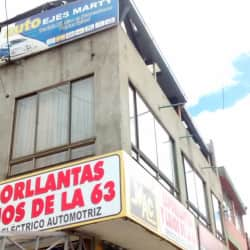 Auto Ejes Marty en Bogotá