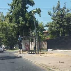 Paradero Transantiago PD238 en Santiago